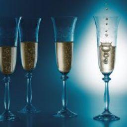 Illustration du profil de champagne